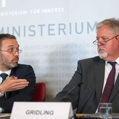 Innenminister Kickl und BVT-Chef Gridling (Mai 2018)