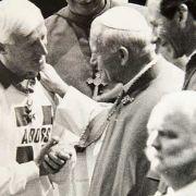 Savile und Papst Johannes Paul II