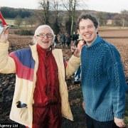 Savile und Tony Blair (1998)
