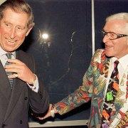 Savile und Prinz Charles