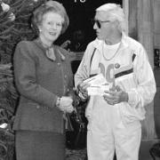 Savile und Margeret Thatcher