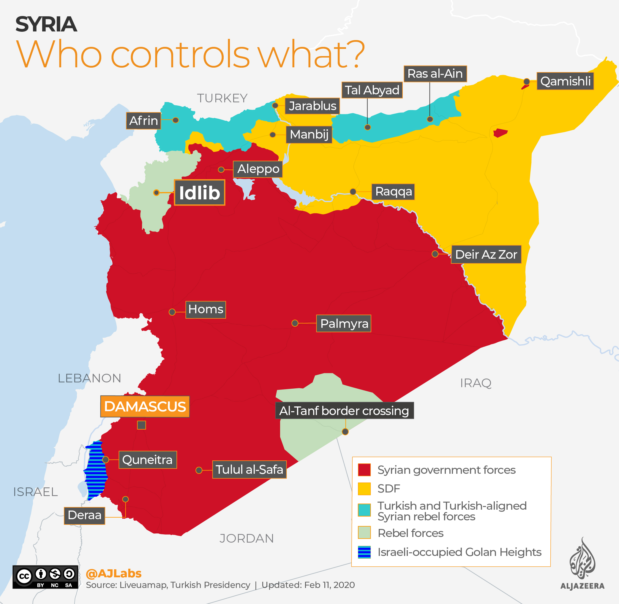 Syria: The situation in February 2020