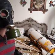 Douma (2018): An alleged chlorine gas attack.